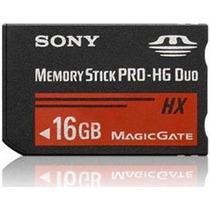 Cartão Memória Memory Stick Pro-hg Duo Hx 16gb, Psp, Câmera