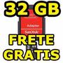Cartão Memória 32gb Micro Sd Sandisk C/ Adaptador Original
