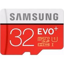 Cartão Memória Micro Sd 32gb Samsung Class10 Galaxy S6 Me09