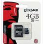 Cartão De Memória Micro Sd 4gb Lacrado + Frete Grátis