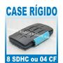 Case Rígido Cartão Sdhc Compact Flash Cf - Sandisk Class 10