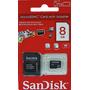 Cartão Micro Sd 8gb Sandisk (lacrado)