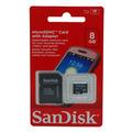 Micro Sd 8gb Sandisk Original + Frete Gratis + Adaptador