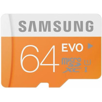 Cartão Memória Micro Sd 64gb Samsung Class10 Galaxy S3 S4 S5
