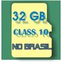 Micro Sd 32g Cartão Sdhc Class 10 Card 32giga 32 Giga