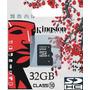 Cartão Memória Micro Sd Hc 32gb Classe10 Card Celular Tablet