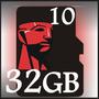 Pronta Entrega Cartão Memória Micro Sd Hc 32gb Classe10 Sdhc