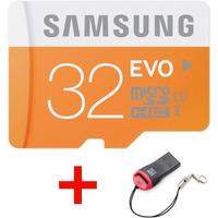 Cartão Memória Samsung Evo Micro Sd Hc 32gb Classe 10 48mbs