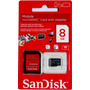 Cartão De Memória Micro Sd Sandisk 8gb Com Adaptador Sd