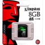 Cartão Mem Sd Kingston Video 8gb Class 10 - Sd10v/8gb