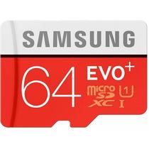 Cartão Micro Sdxc Evo 64gb 80mb/s Sd Samsung Galaxy Note4 4
