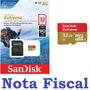 Cartão Memória Sandisk Extreme Sdhc 90mb/s 32gb 4k Hd Gopro
