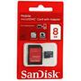 Cartão De Memória Micro Sd 8 Gb Preco Imbativel