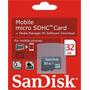 Cartão Micro Sd 32gb Garantia Nokia Samsung Motorola Tablet