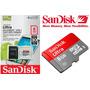 Cartão Micro Sd Sdhc 8gb Ultra Sd Sandisk Classe 10 30mb/s