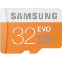 Cartão Samsung Micro Sdxc Evo 32gb Classe 10 48mb/s Sd Sdhc