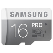Cartão Micro Sd Sdhc Samsung Pro 16gb Classe 10 90mb/s Uhs-1