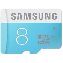 Cartão Memória Micro Sd 8gb Samsung Classe6 Galaxy S3 S4 S5