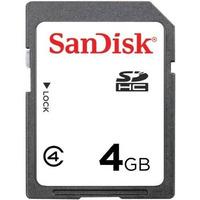 Cartão De Memoria Sandisk 4gb Sdhc Classe 4 Original Câmera