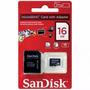 Cartão De Memória Micro Sd De 16gb + Leitor Micro Sd Usb 2.0