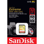 Cartão Sandisk Extreme Sdhc Classe10 90mb/s 32gb Sd Full Hd