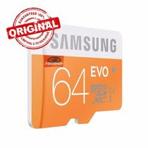 Cartão Samsung Micro Sdxc Evo 64gb Classe 10 48mb/s Sd Me03