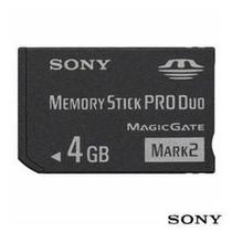 Cartão De Memória Sony 4gb Memory Stick Pro Duo Mark (d)