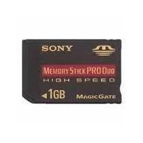 Cartão Memória Memory Stick Pro-hg Duo Hx 1gb, Psp, Câmera