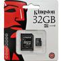 Cartão De Memória Kingston 32gb Para Samsung Corby 2 S3850