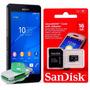 Cartão De Memória Micro Sd 16gb Sandisk + Mini Leitor Usb