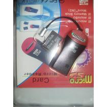 Cartão De Memoria 32gb Classe 10 Micro Sd + Leitor Usb