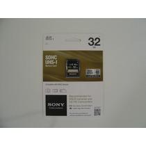 Cartão Sony Sdhc 32gb Classe 10 E Uhs-l 40mb/s Fullhd/3d.