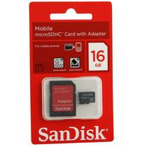 Cartão Memória Micro Sd 16gb Classe 4 Original Mercado Livre