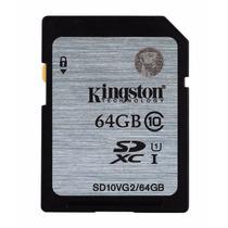 Cartão Sd Sdxc Kingston 64gb Classe 10 Full Hd Uhs-1 45mb/s