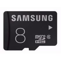 Cartão Memória Micro Sd 8gb Samsung Classe6 Galaxy S3 S Me23