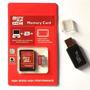 Cartão De Memória Micro Sd 32gb Com 2 Adaptadores De Brinde