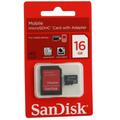 Cartão De Memória 16gb + Pen Drive 16gb Sandisk Original.