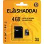 Cartão De Memória 04gb Micro Sd C/adaptador El Shaddai