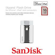 Pendrive Sandisk Ixpand Sdix-016g-g57 16gb Ixpand Para Apple
