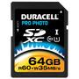 Cartão De Memória Sdxc Pro Photo Classe 10 64gb - Duracell