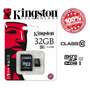 Cartão Micro Sd 32 Gb Classe 10 Kingston Brinde Leitor Usb