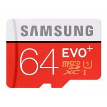 Cartão Samsung Micro Sdxc 64gb 80mb/s Sdhc Galaxy S3 S4 S5