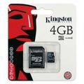 Cartão Memória Micro Sd 4gb Lacrado Original + Frete Gratis