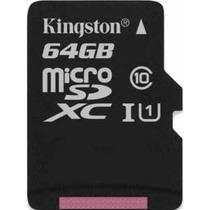 Cartao Memoria Kingston Micro Sdxc 64gb Sd Go Pro Hero 3 4
