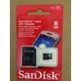 Cartão De Memória Micro Sd 8gb Sandisk Frete Grátis Original