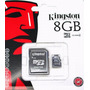 Cartão De Memória Micro Sd 8gb Kingston Lacrado Orig