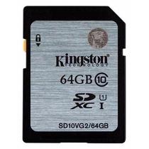 Cartão Kingston Sdxc 45mb/s Classe 10 64gb Sdhc Dslr So Ma03