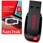 Kit C/ 6 Pen Drive Sandisk 8gb Cruzer Blade Original