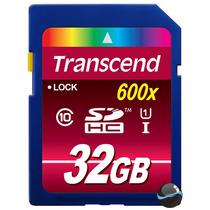Cartão Memória Sdhc Transcend 32gb Classe 10 85mb/s Uhs1