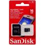 Cartão Memória Para Celular Micro Sd 16gb Class 4